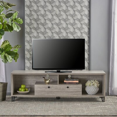 Roles 63 TV Stand Color: Gray