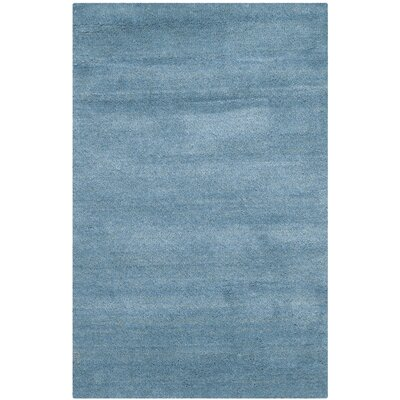 Bolick Blue Area Rug Rug Size: Rectangle 2' x 3'