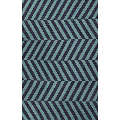 Davis Stripe Area Rug Rug Size: Rectangle 5 x 8