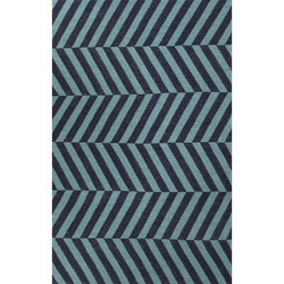 Davis Stripe Area Rug Rug Size: Rectangle 8 x 10