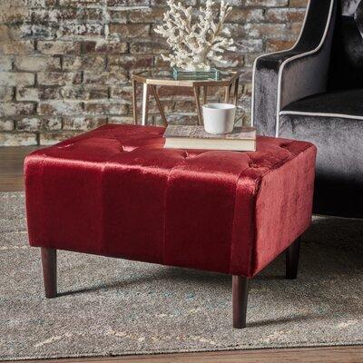 Ranck Ottoman Upholstery: Garnet