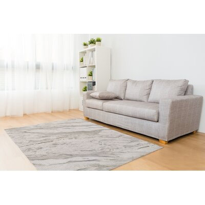 Rupp Marble Gray Area Rug Rug Size: Rectangle 2 x 3