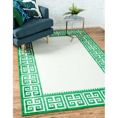 Sidney Cream Area Rug Rug Size: Rectangle 5 x 8