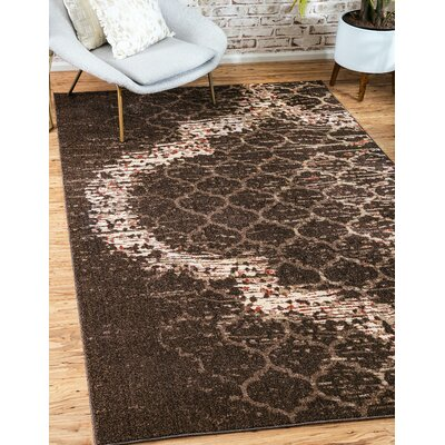 Steinbeck Brown Area Rug Rug Size: Rectangle 7 x 10