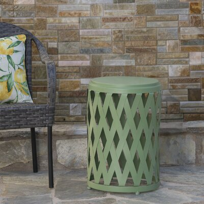 Quillen End Table Color: Matte Green