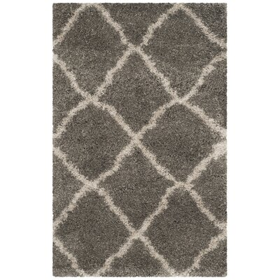 Charmain Grey & Taupe Area Rug Rug Size: Rectangle 3 x 5
