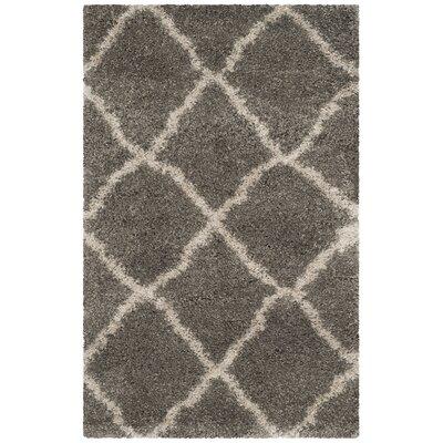 Charmain Grey & Taupe Area Rug Rug Size: Rectangle 3 x 5