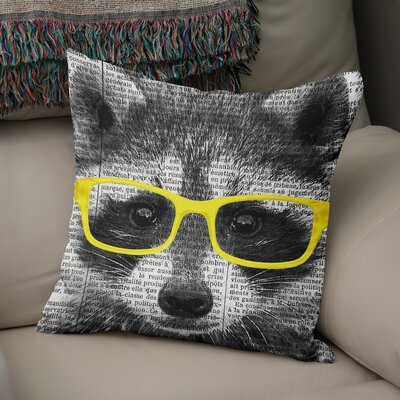 Baldree Blocks Throw Pillow Size: 16 H x 16 W x 6 D