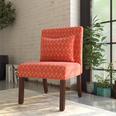 Blackmore Slipper Chair Upholstery: Melon