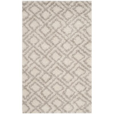 Amicus Ivory/Beige Area Rug Rug Size: Rectangle 3 x 5