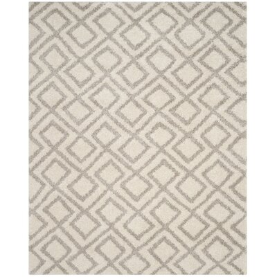 Amicus Ivory/Beige Area Rug Rug Size: Rectangle 8 x 10