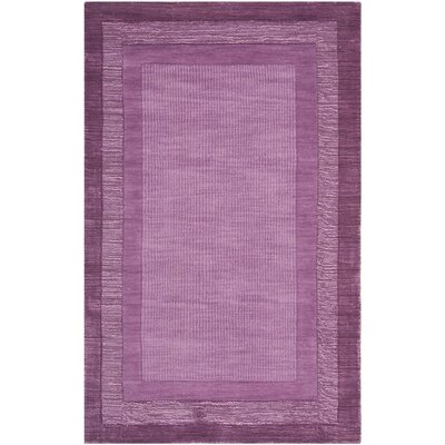 Scanlan Purple Area Rug Rug Size: Rectangle 4 x 6