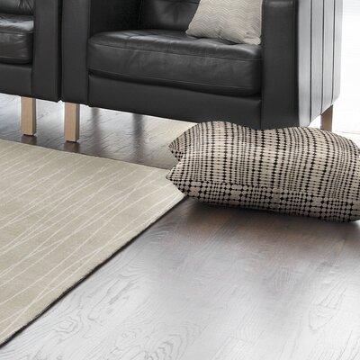 Balam Stripe Floor Pillow Size: 8 H x 26 W x 26 D