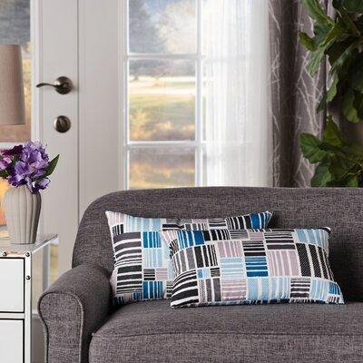 Swilley Geometric Rectangular Indoor/Outdoor Lumbar Pillow
