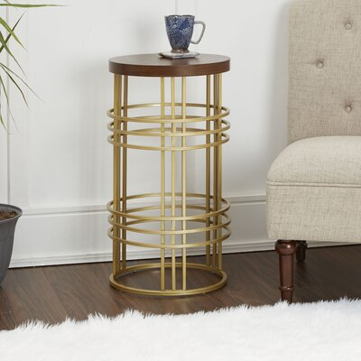 Sailer Round Accent End Table