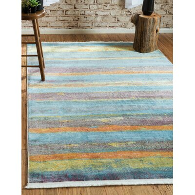 Purington Gray Area Rug Rug Size: Rectangle 82 x 10