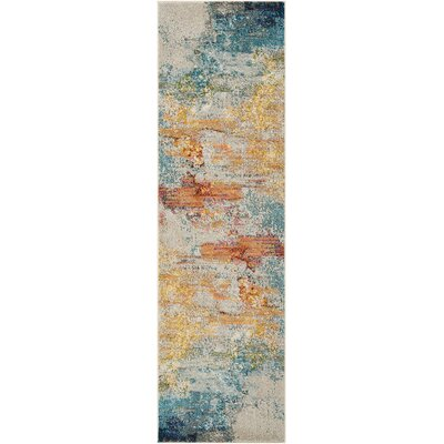 Shugart Sealife Area Rug Rug Size: Runner 2 x 6