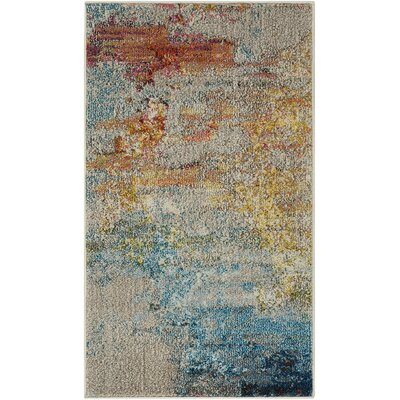 Shugart Sealife Area Rug Rug Size: Rectangle 53 x 73