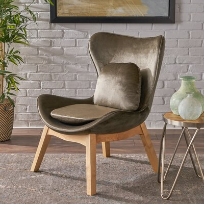 Ohearn Side Chair Upholstery: Gray