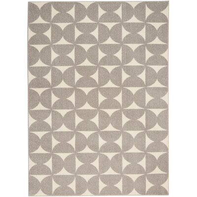 Petrina Gray Area Rug Rug Size: Rectangle 4 x 6