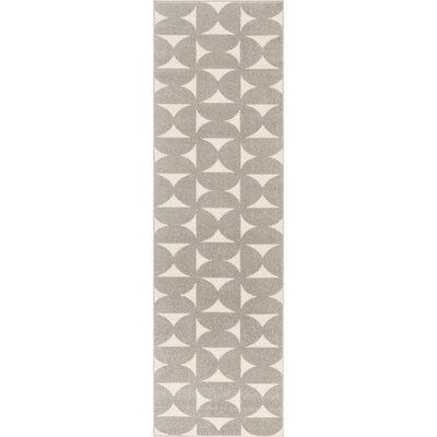 Petrina Gray Area Rug Rug Size: Rectangle 22 x 76