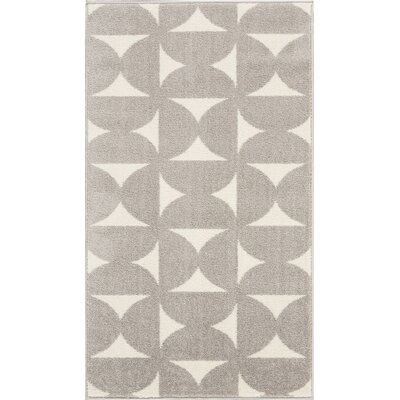 Petrina Gray Area Rug Rug Size: Rectangle 22 x 39