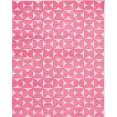 Petrina Pink Area Rug Rug Size: Rectangle 8 x 10