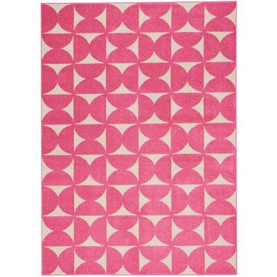 Petrina Pink Area Rug Rug Size: Rectangle 4 x 6