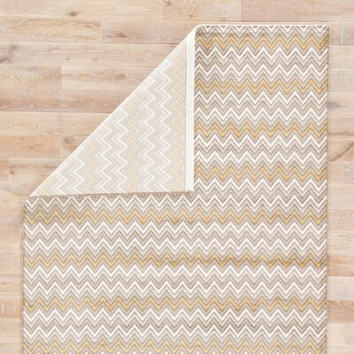 Langridge Gray Area Rug Rug Size: Rectangle 5 x 76