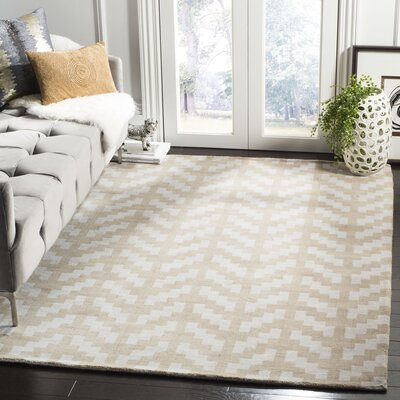 Martins Grey / Taupe Area Rug Rug Size: Rectangle 5 x 7