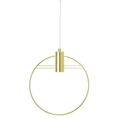 Bracy Metal 1-Light Mini Pendant