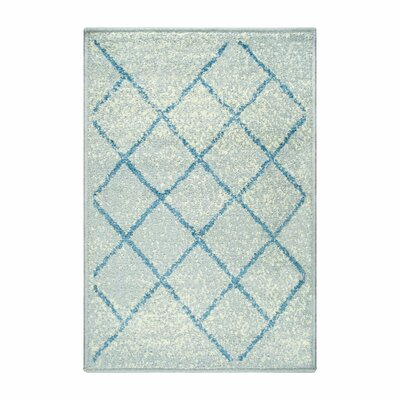 Verity Lattice Gray Area Rug Rug Size: Rectangle 2 x 3