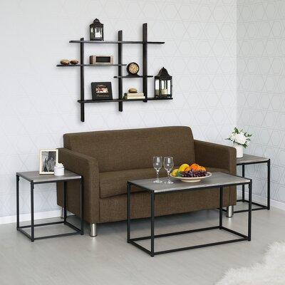 Andresen 3 Piece Coffee Table Set Color: Dark Oak