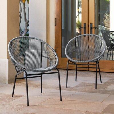 Repass Papasan Chair Color: Gray