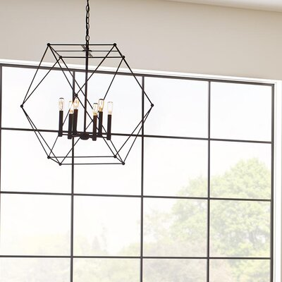 Cecere 4-Light Geometric Pendant