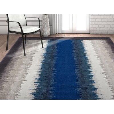Rethman Blue Area Rug Rug Size: 710 x 106