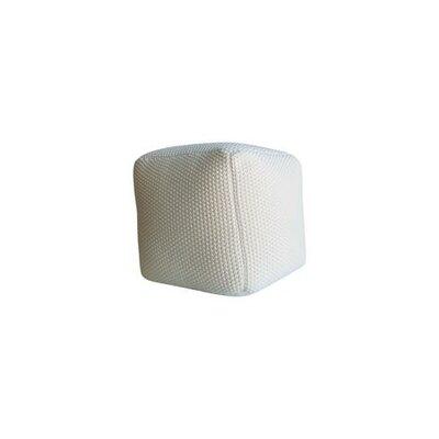 Ellett Pouf Upholstery: White