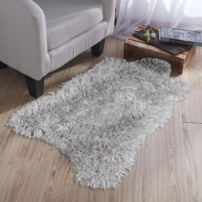 Costantino Soft High Pile Gray Area Rug