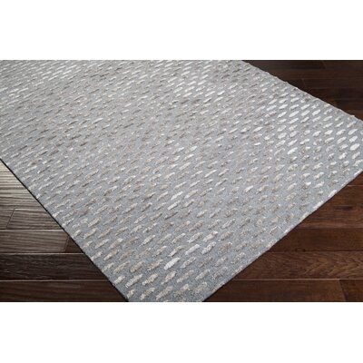 Bonner Gray & Silver Area Rug Rug Size: Rectangle 5 x 8