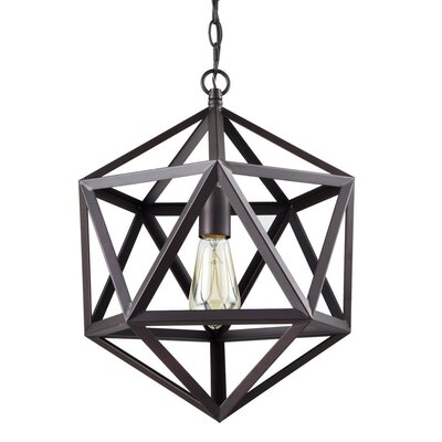 Dates 1-Light Foyer Pendant