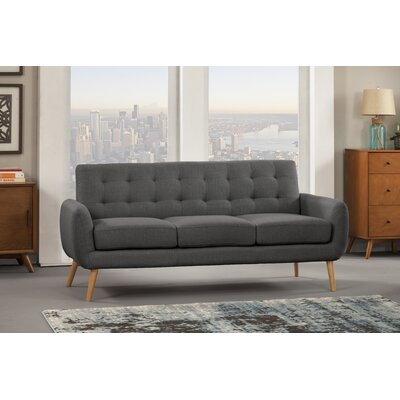Dillion Sofa Upholstery: Gray