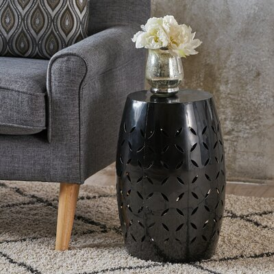 Patchen Accent End Table Color: Black