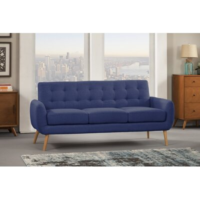 Dillion Sofa Upholstery: Blue Depth
