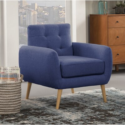 Dillion Armchair Upholstery: Blue Depth