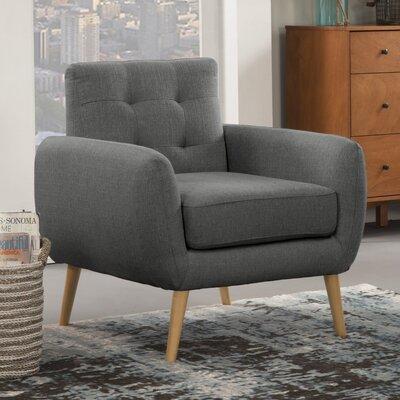Dillion Armchair Upholstery: Gray
