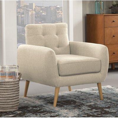Dillion Armchair Upholstery: Ivory