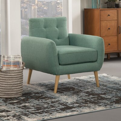 Dillion Armchair Upholstery: Turquoise