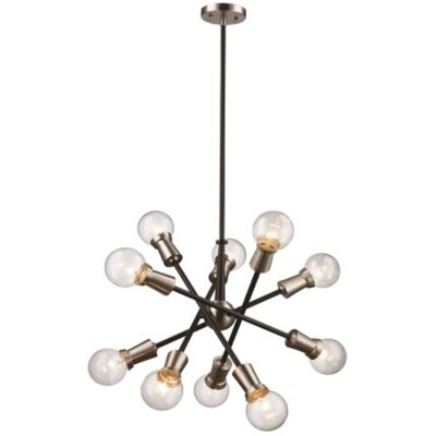 Erik 10-Light Sputnik Chandelier