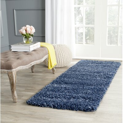 Starr Hill Navy Area Rug Rug Size: Runner 23 x 7