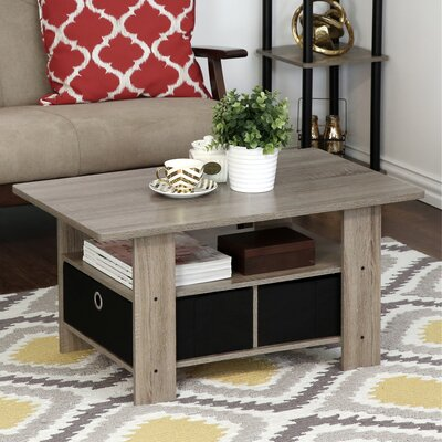 Kenton Coffee Table Color: French Oak Gray/Black